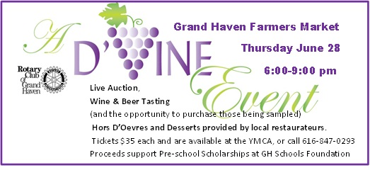 Join us at the Rotary Wine Tasting Fundraiser